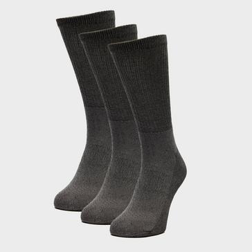 Grey|Grey Peter Storm 3 Pack Essential Socks