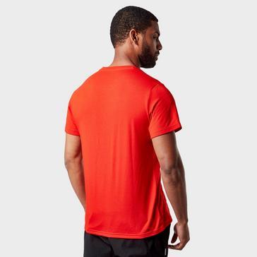 Red Craghoppers Men's Tech Short Sleeve T-Shirt