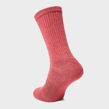 Red Peter Storm Women's 3 Pack Essential Sock