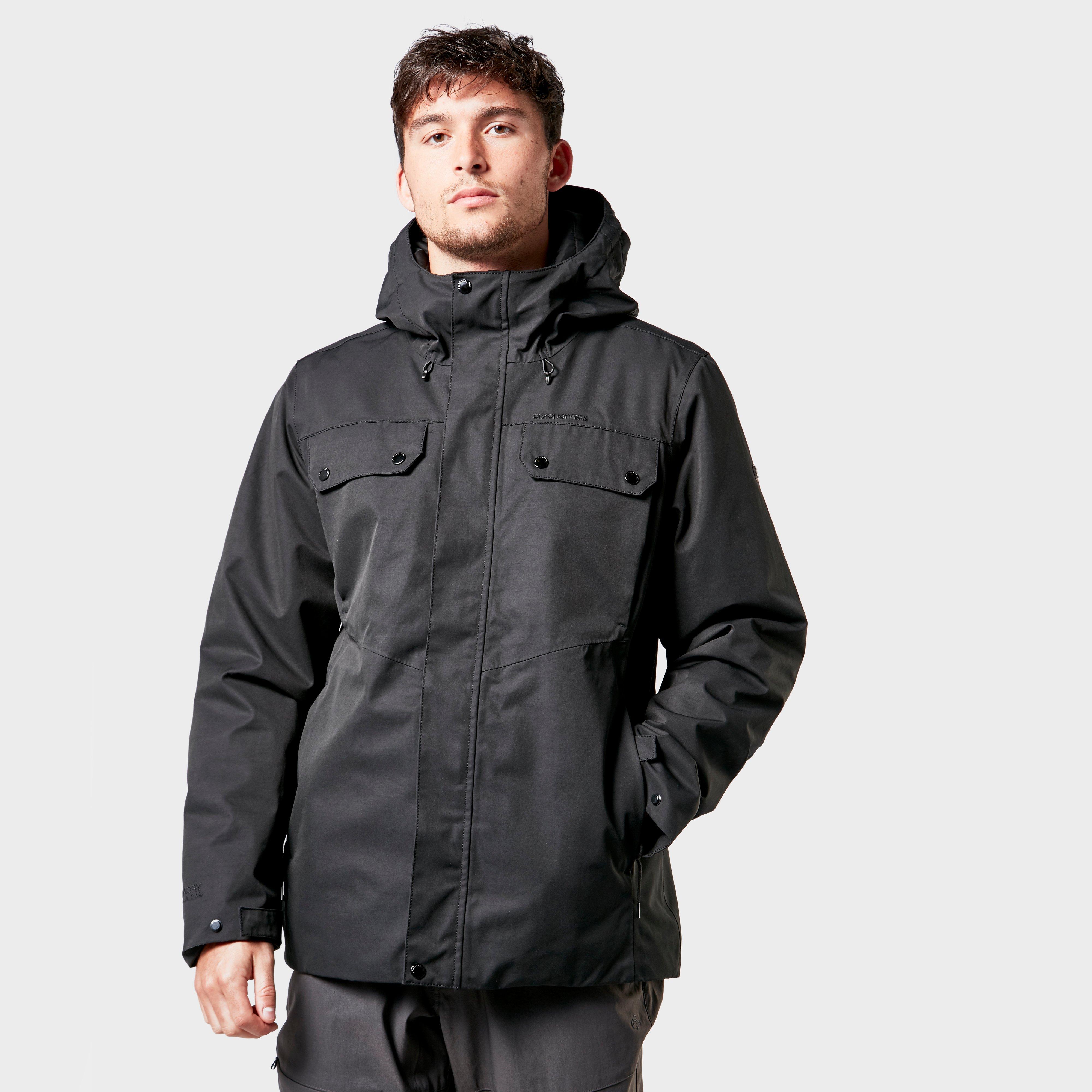 Craghoppers Craghoppers Mens Sabi Jacket - Black, Black