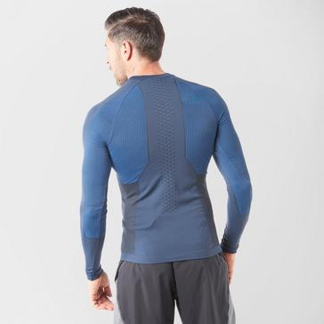 Blue The North Face Men's Sport Long Sleeve Top