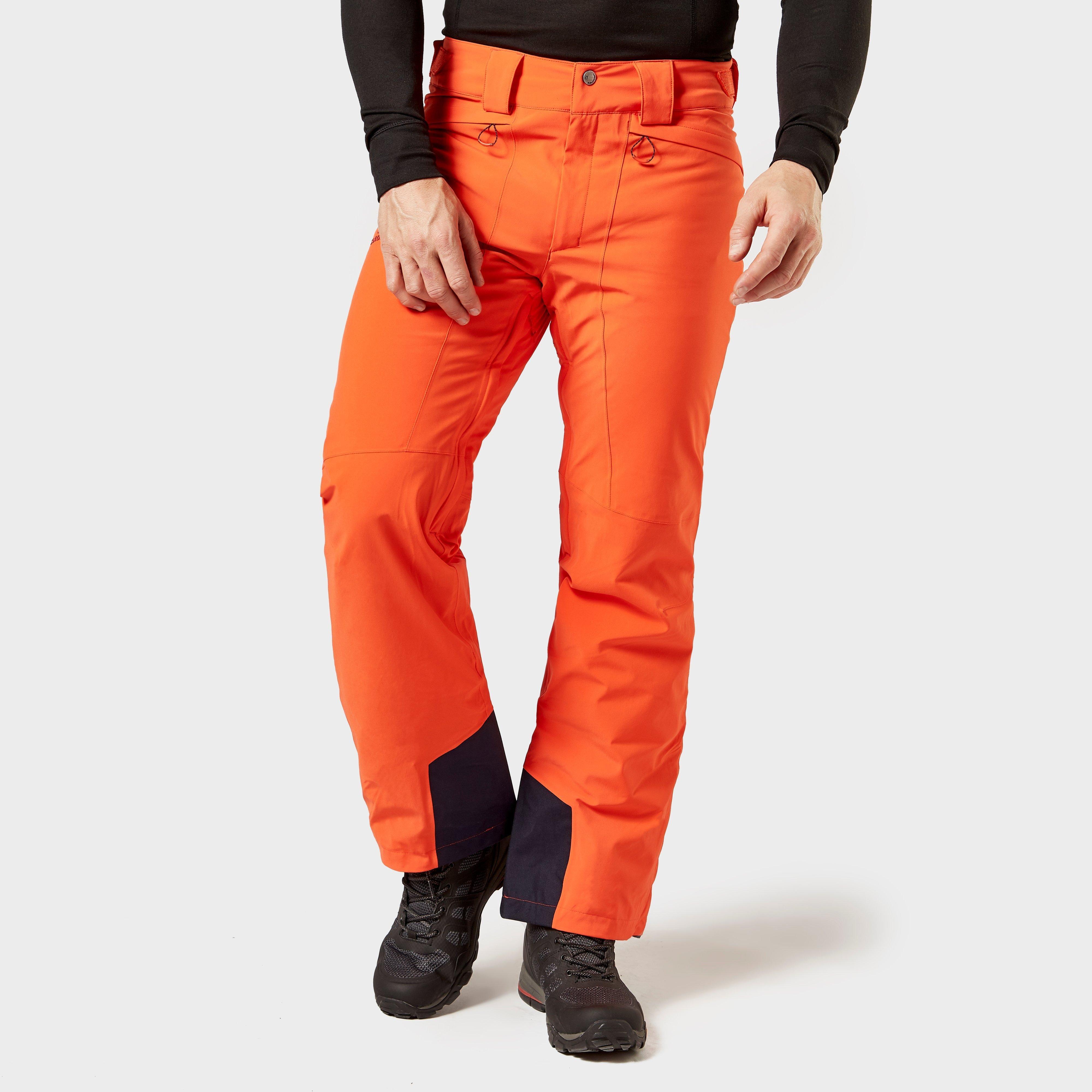 Salomon Men's Icemania Pants - Orange/Orange, Orange
