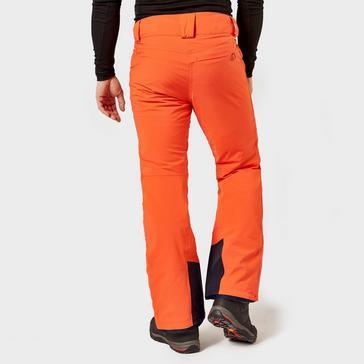 Orange Salomon Men's Icemania Pants
