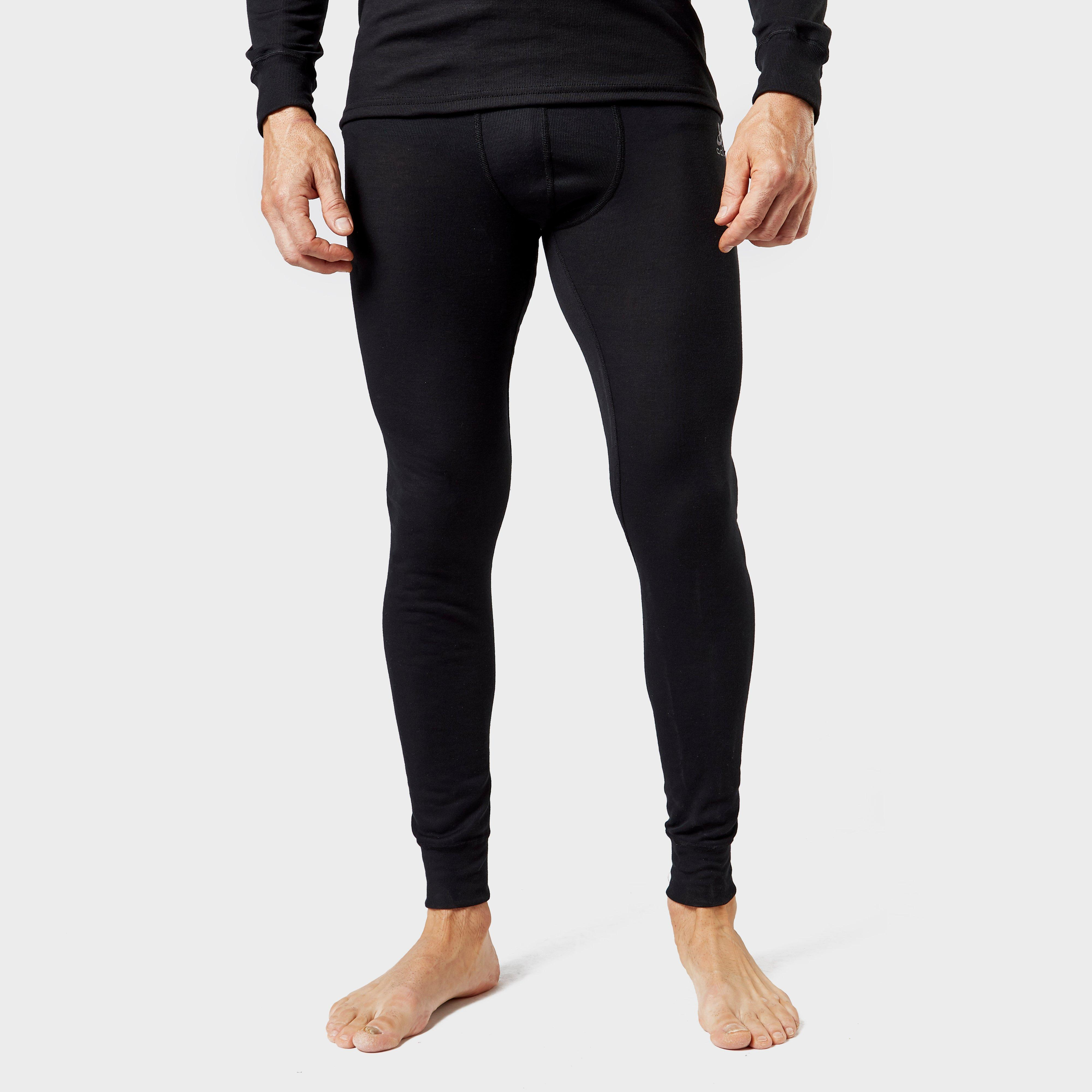 Odlo Odlo Mens Active Warm Legging Base Layer Pants - Black, Black