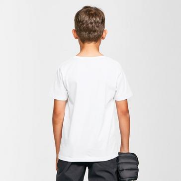 White Berghaus Kids' Logo T-Shirt