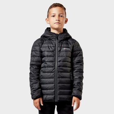 Black Berghaus Kids' Kirkhale Baffle Jacket