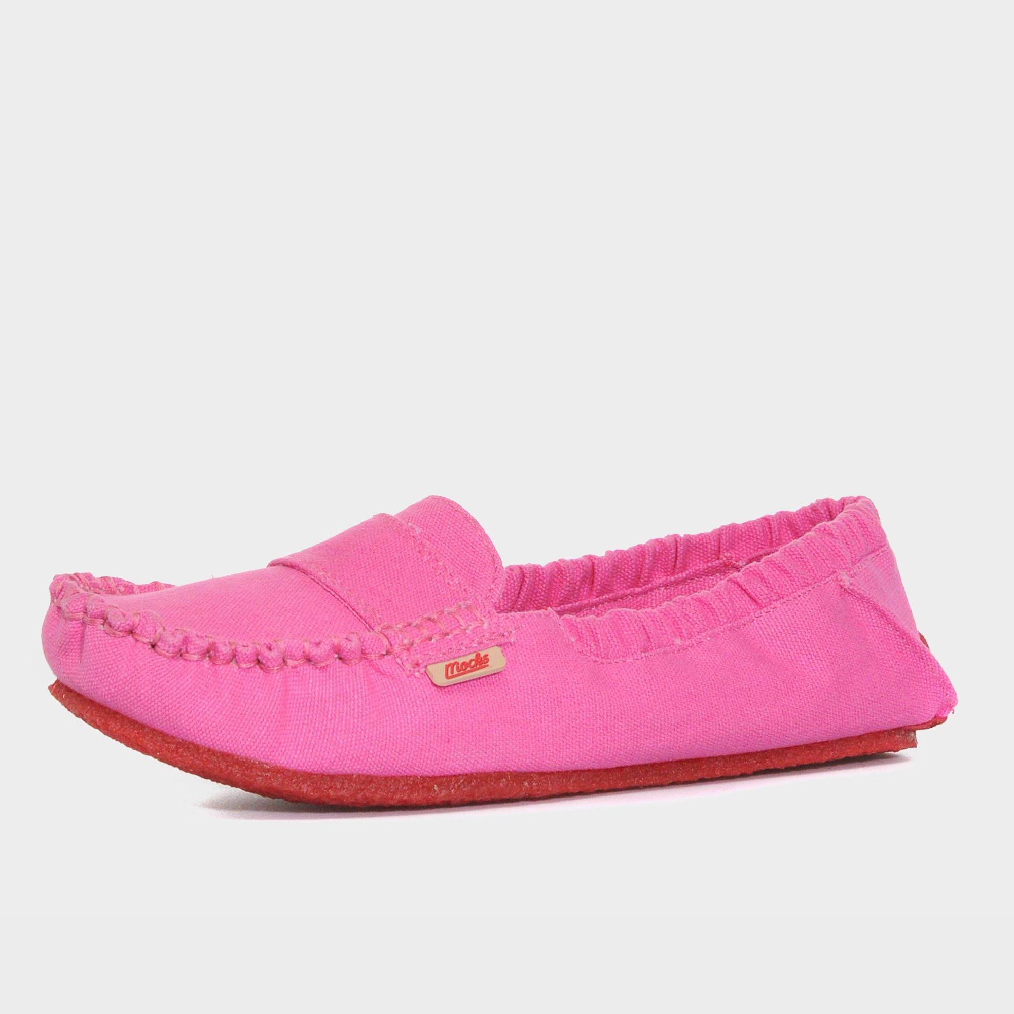 Mocks Mocks Womens Classic Canvas Shoe - Pink, Pink