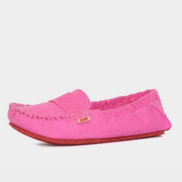 Pink Mocks Women's Classic Canvas Shoe