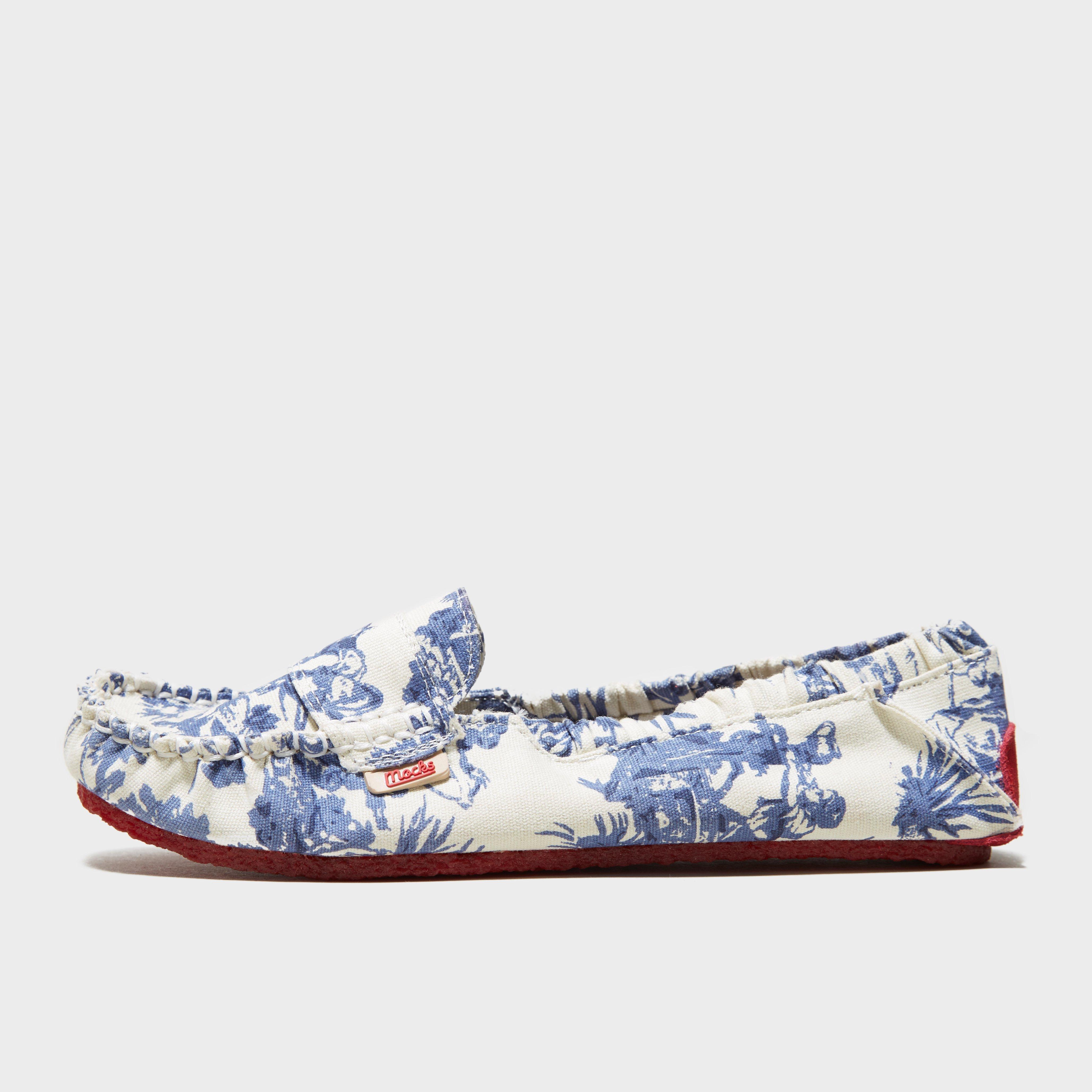 Mocks Mocks Womens Classic Canvas Shoe - Blue, Blue