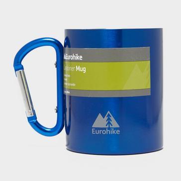 Blue Eurohike Carabiner Mug