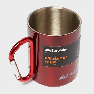 Red Eurohike Carabiner Mug