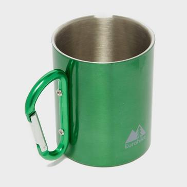 Green Eurohike Carabiner Mug