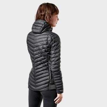 Black Montane Women's Crest Hybrid Jacket