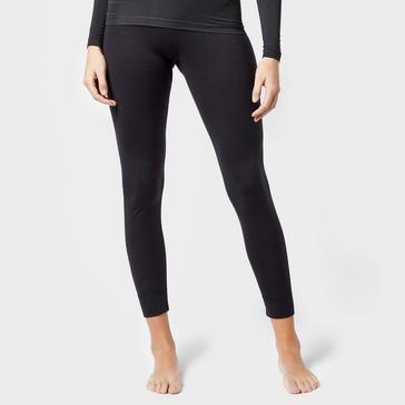 Black Odlo Women's Merino Pants