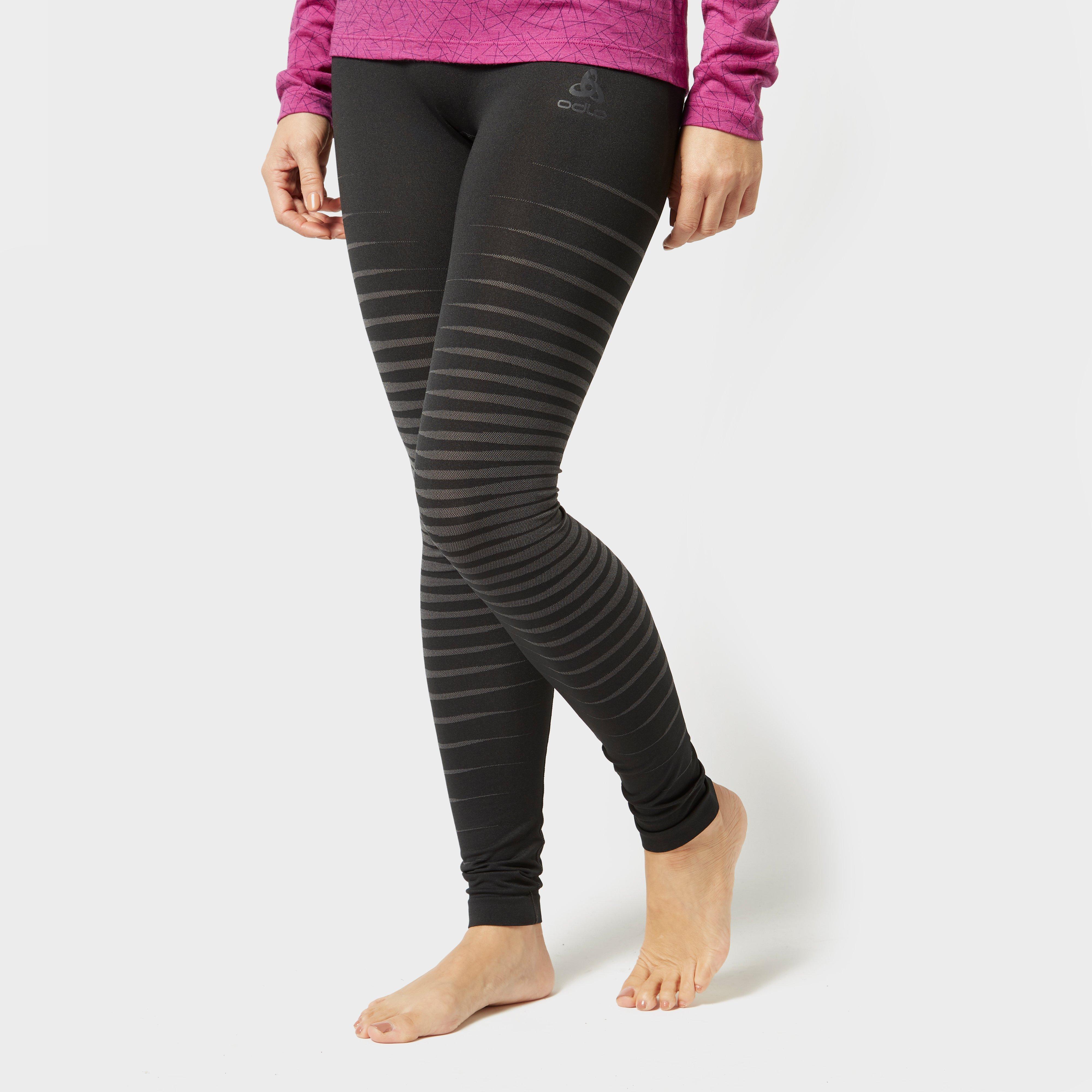 Odlo Odlo Womens Performance Light Base Layer Pants - Black, Black