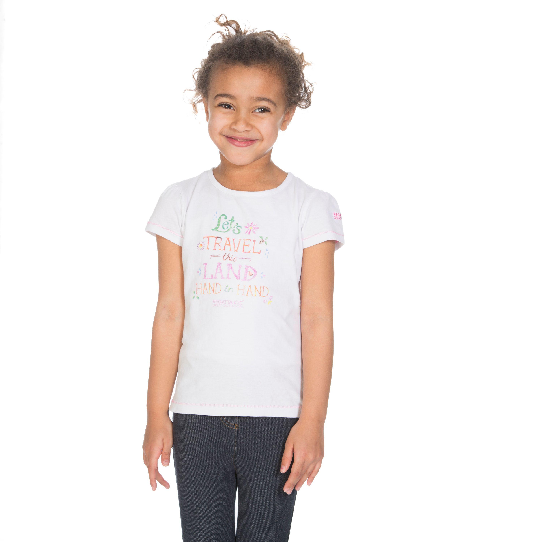 REGATTA Girls' Bugle T-Shirt