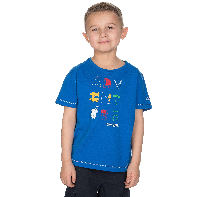 REGATTA Boys' Bugle T-Shirt