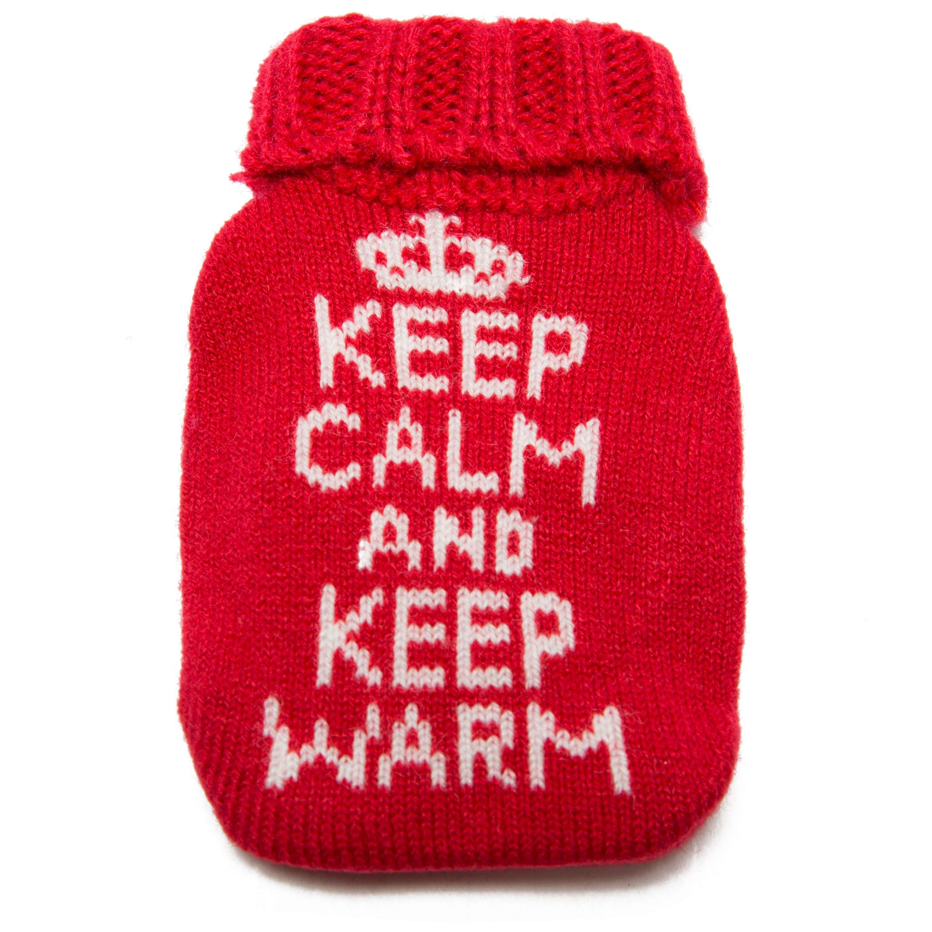 SUMMIT Reusable Knitted Cover Heat Pack