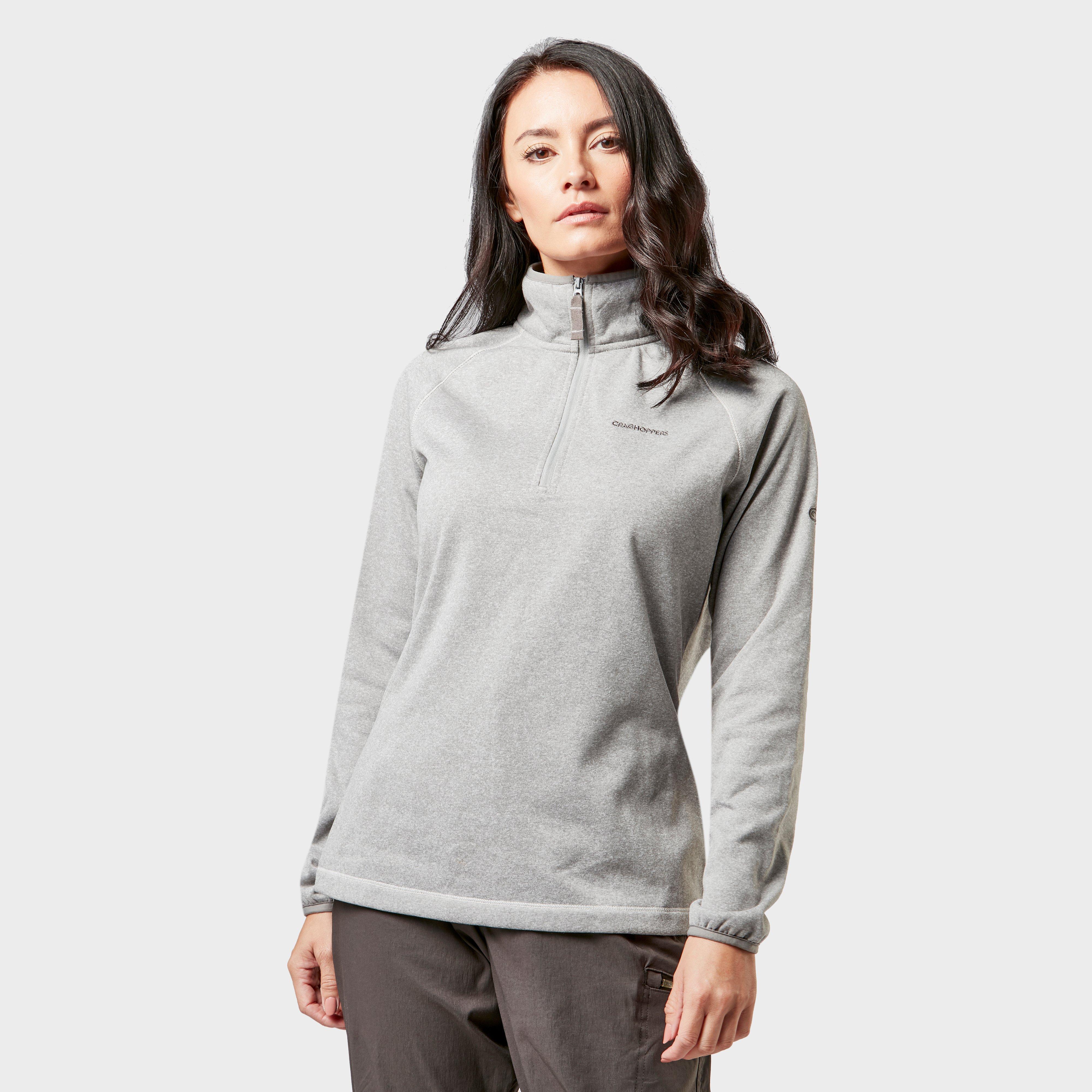 Craghoppers Craghoppers womens Delacey Half-Zip Fleece - Grey, Grey