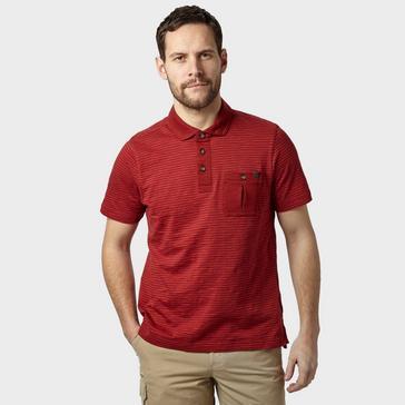Red Brasher Men's Robinson Stripe Polo Shirt