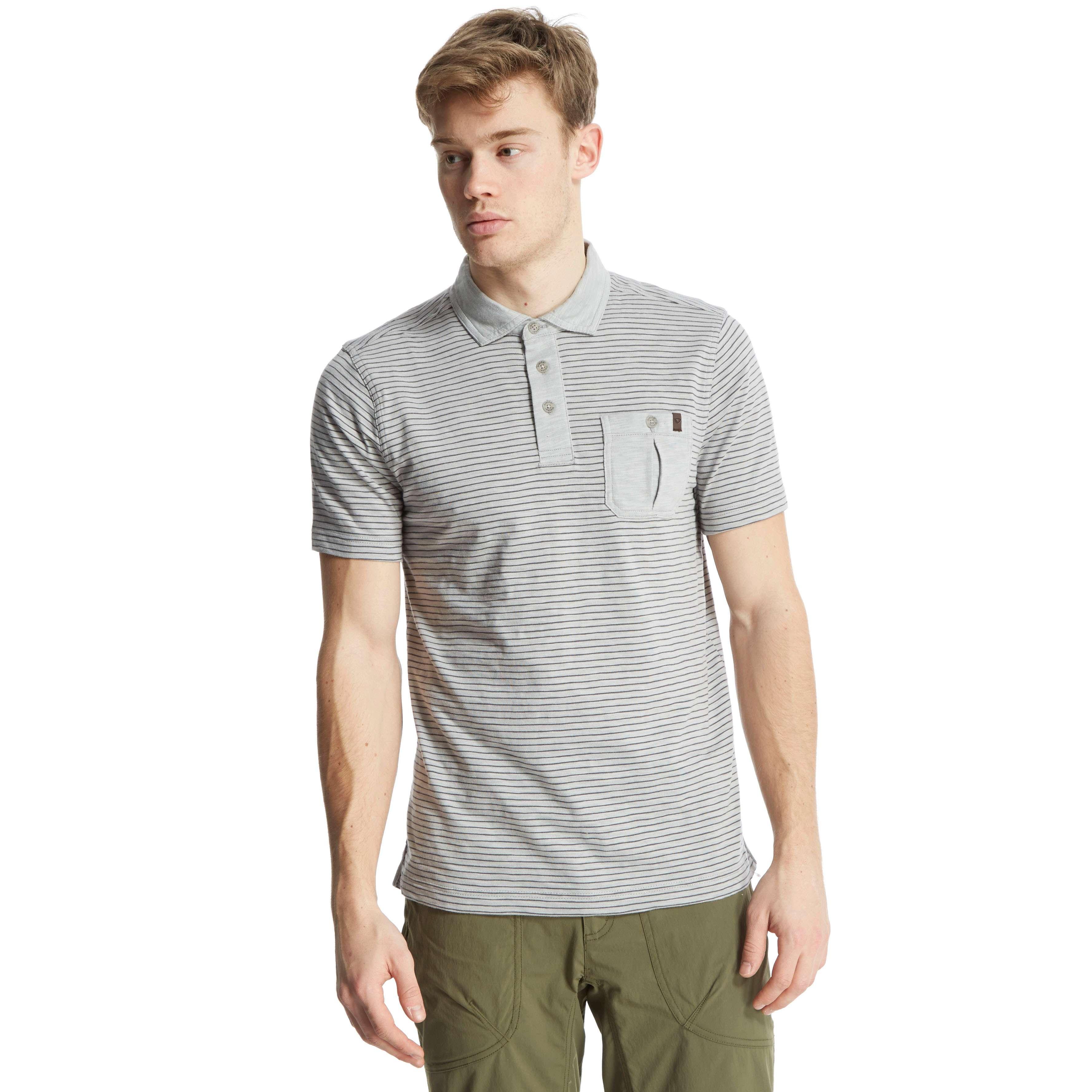 BRASHER Men's Robinson Stripe Polo Shirt
