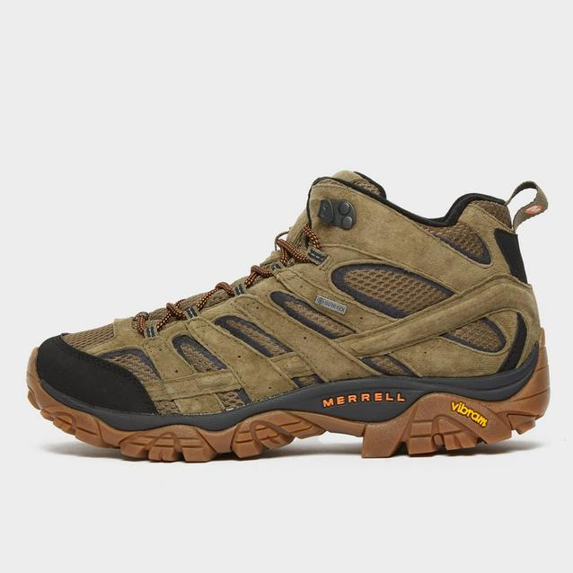 merrell mens moab 2 mid gore-tex hiking boots reviews uk