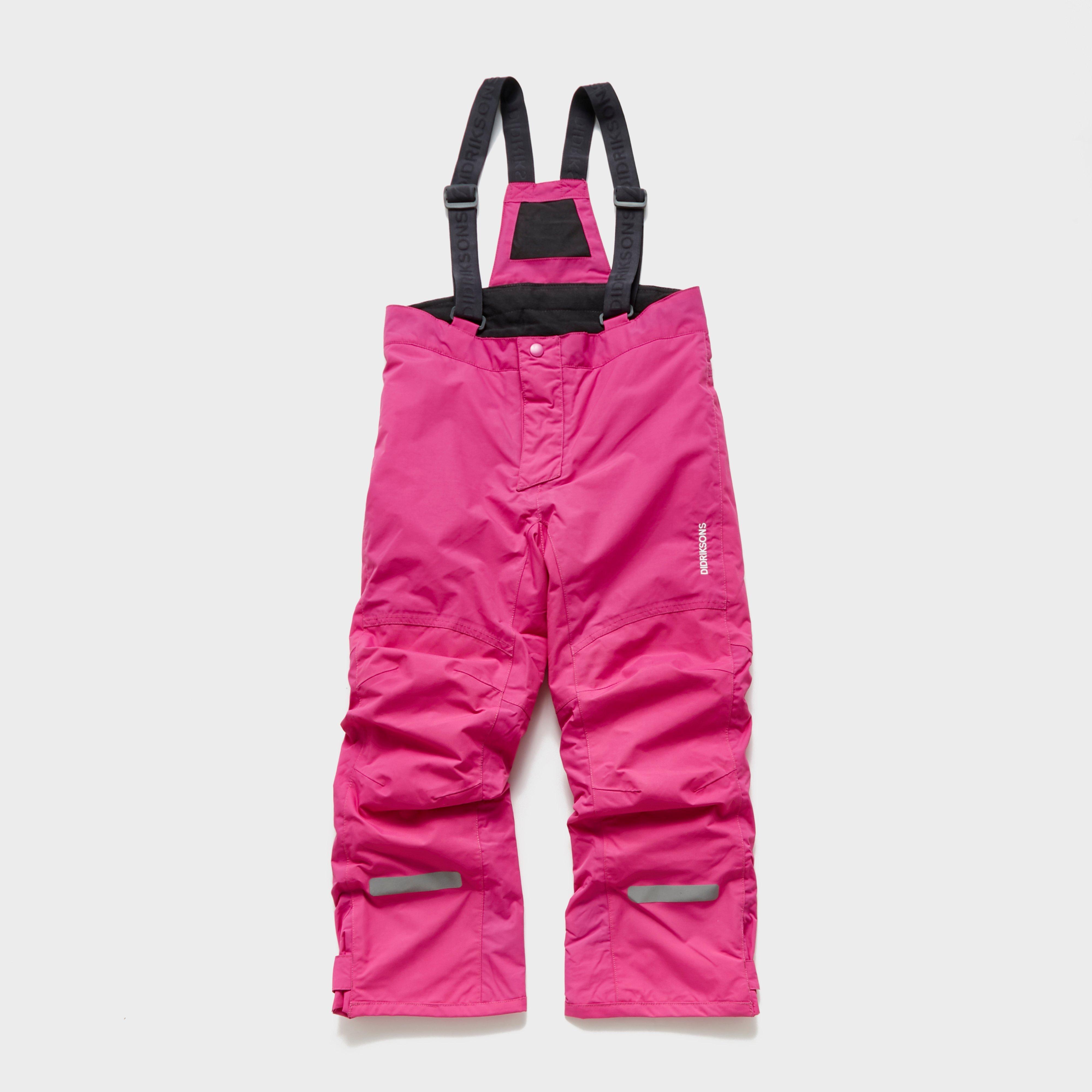 Didriksons Didriksons Girls Idre Pants - Pink, Pink