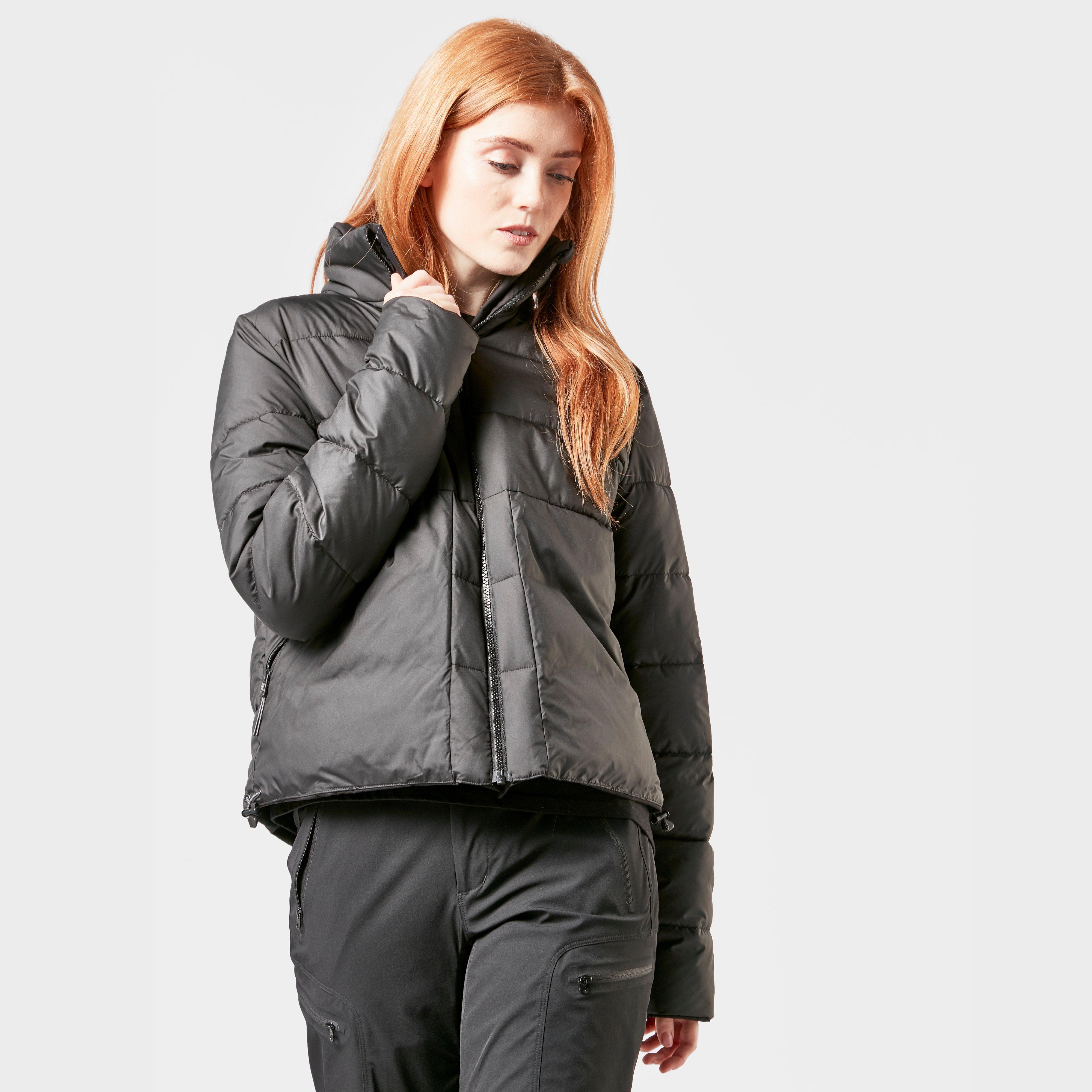 Didriksons Didriksons womens Kim Reversible Jacket - Black, Black