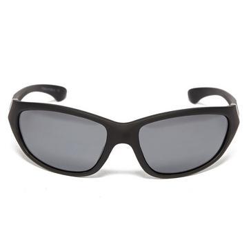Black Peter Storm Men's Rubber Matte Sunglasses