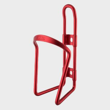Red Delta Alloy Bottle Cage