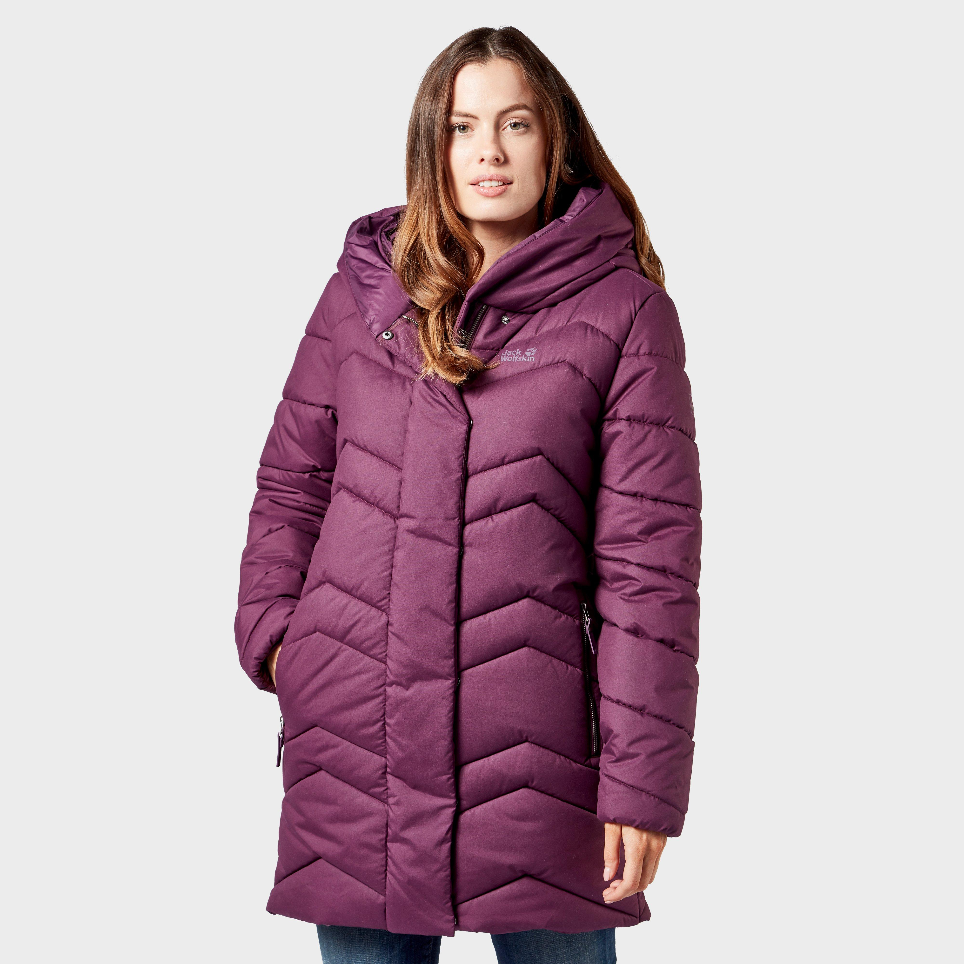 Jack Wolfskin Jack Wolfskin womens Kyoto Long Jacket - Purple, Purple