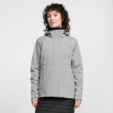 Grey|Grey Jack Wolfskin Women's Paradise Valley Jacket