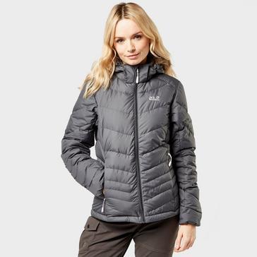 Grey|Grey Jack Wolfskin Women's Serenia Down Jacket