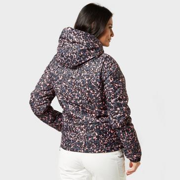 Multi Protest Women's Dante Leopard Print Ski Jacket