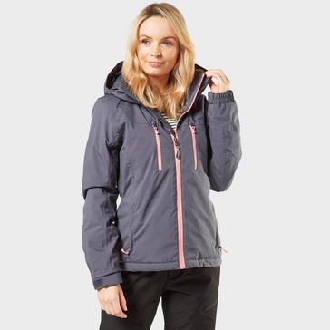 Navy Protest Women's Giggle Ski Jacket