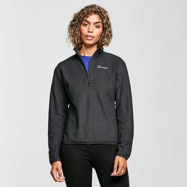 Black Berghaus Women's Hendra Half-Zip Fleece