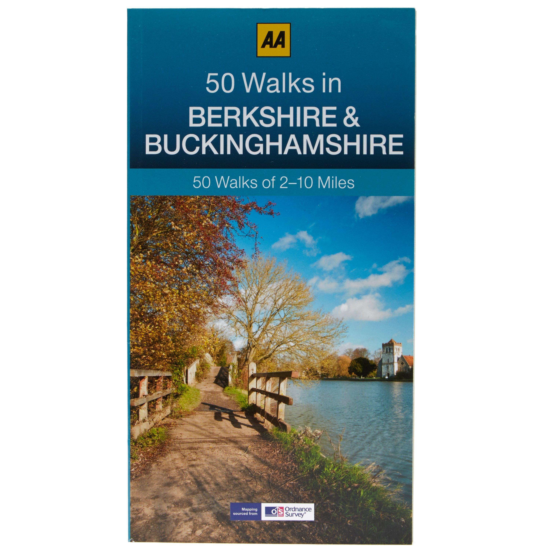 Image of Aa 50 Walks in Berkshire & Buckinghamshire Guide, Assorted