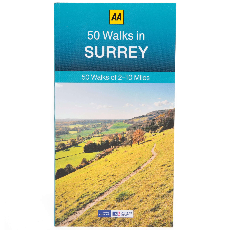AA 50 Walks in Surrey