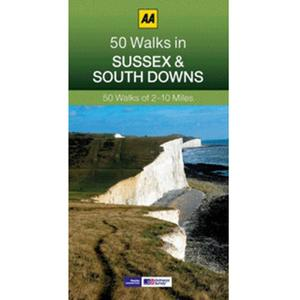 AA 50 Walks in Sussex and South Downs Guide