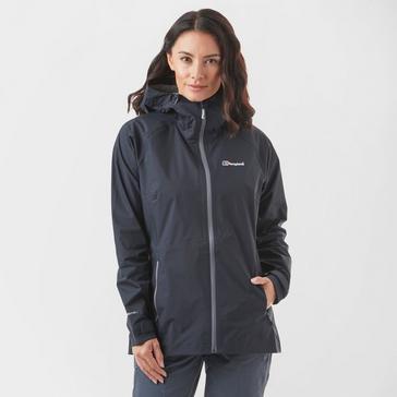 Black Berghaus Women's Stormcloud Waterproof Jacket