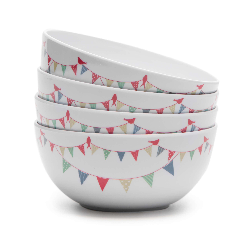 EUROHIKE Summer Fête - Set Of 4 Bowls
