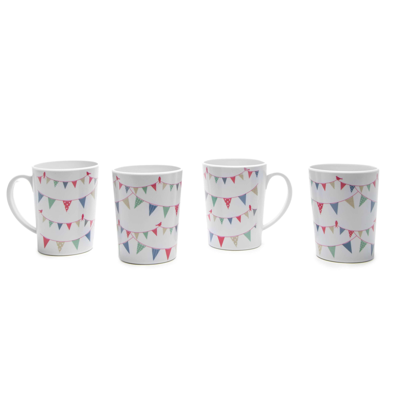 EUROHIKE Summer Fête - Set Of 4 Mugs