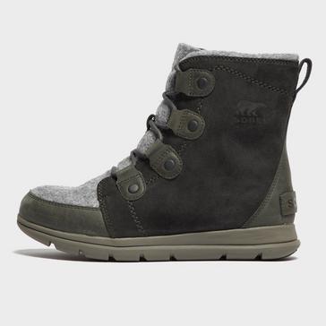 Grey Sorel Women's Explorer Joan Boots