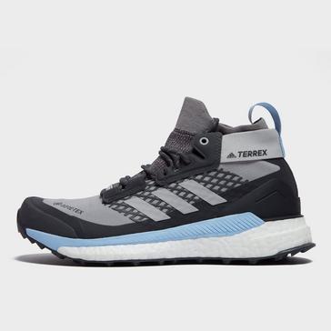 grey adidas Women's Terrex Free Hiker GORE-TEX ® Shoes