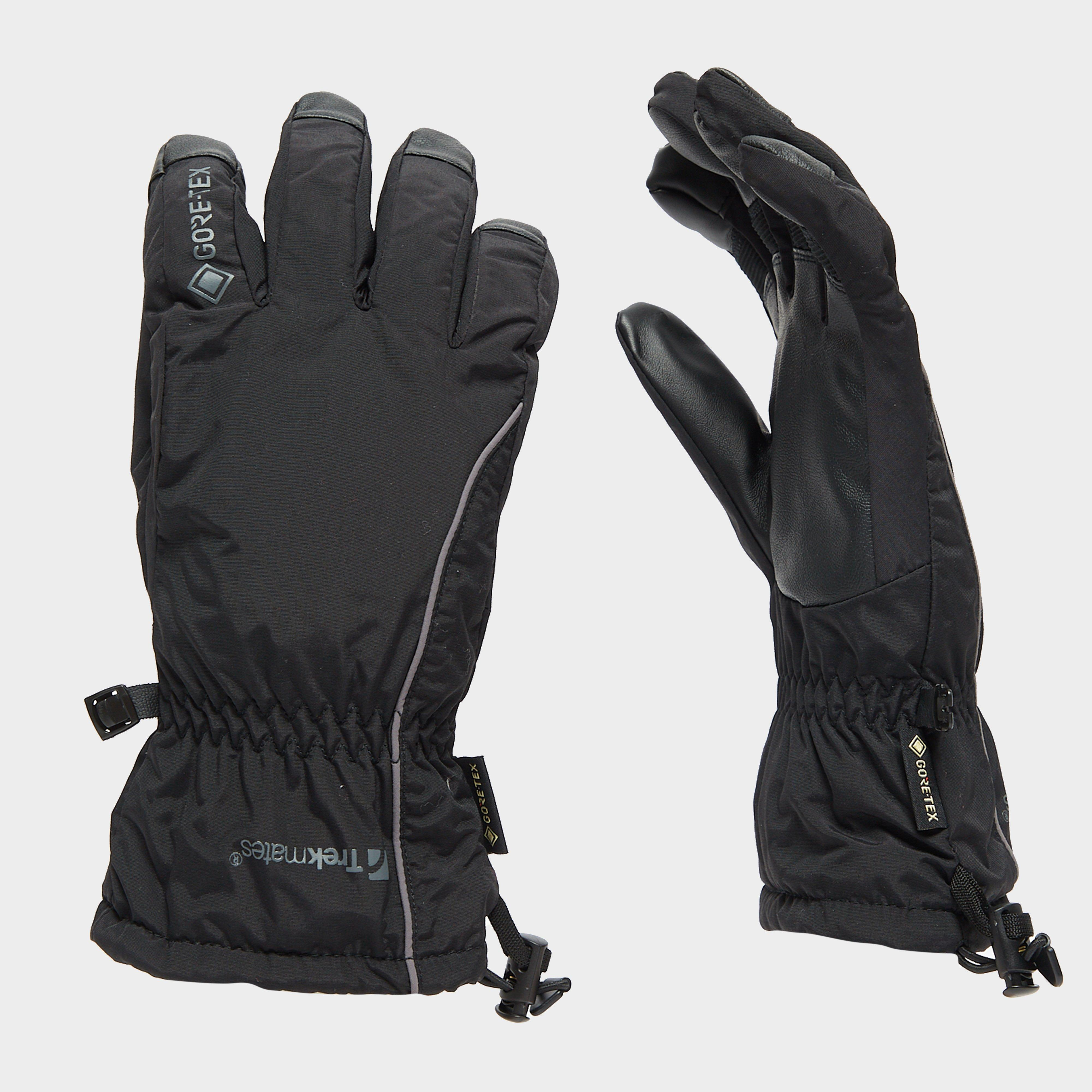 Trekmates Trekmates Mens Chamonix GORE-TEX Gloves - Black, Black