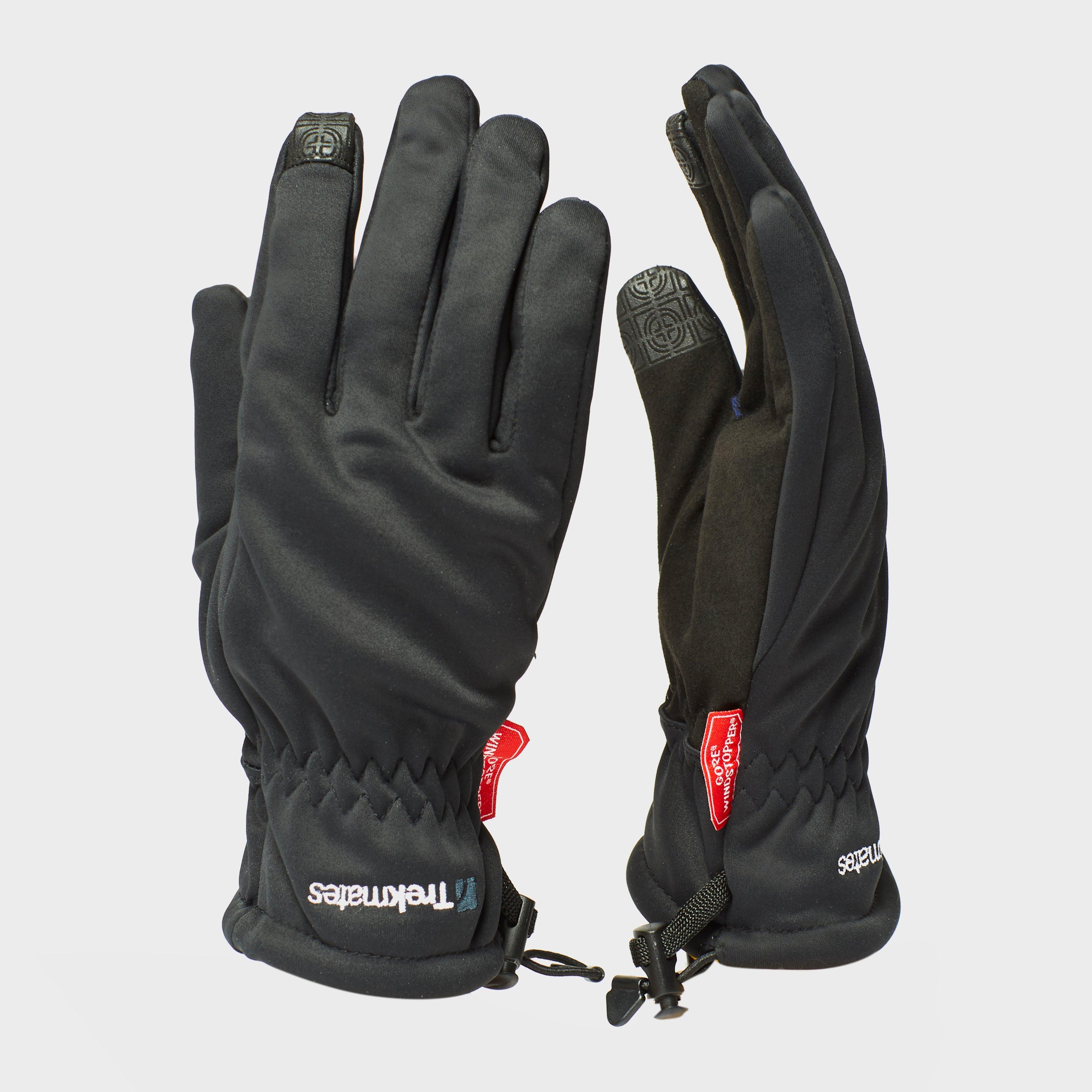 Trekmates Trekmates Rigg Windstop Glove - Black, Black