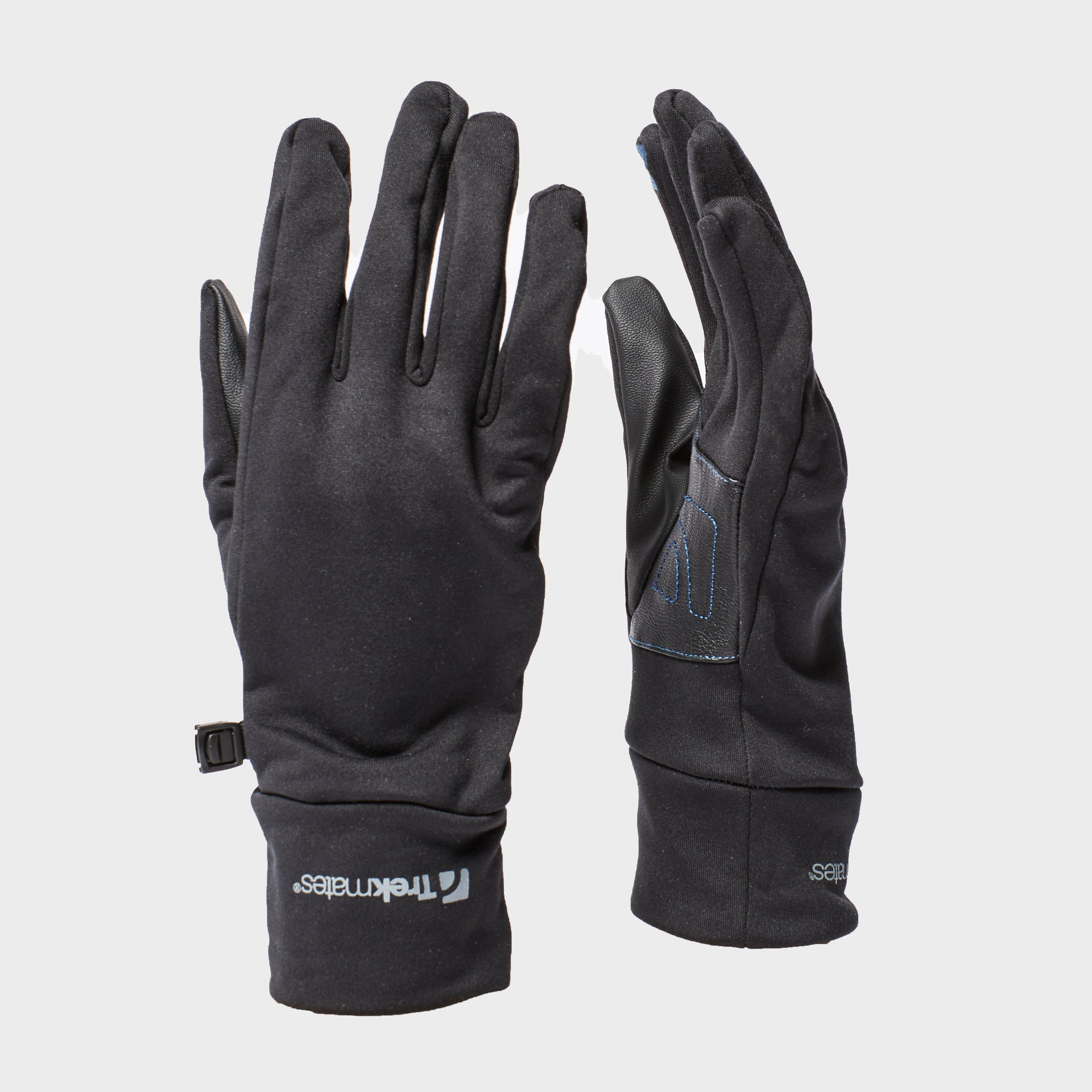 Trekmates Trekmates Mens Ullscarf Gloves - Black, Black