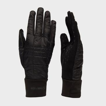 Black Trekmates Women's Stretch Grip Hybrid Glove