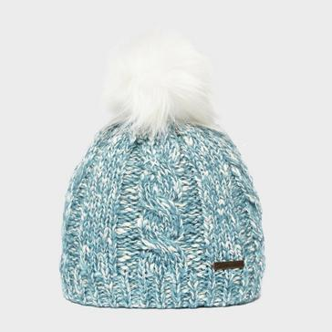 Light Blue Trekmates Pricilla Knit Hat