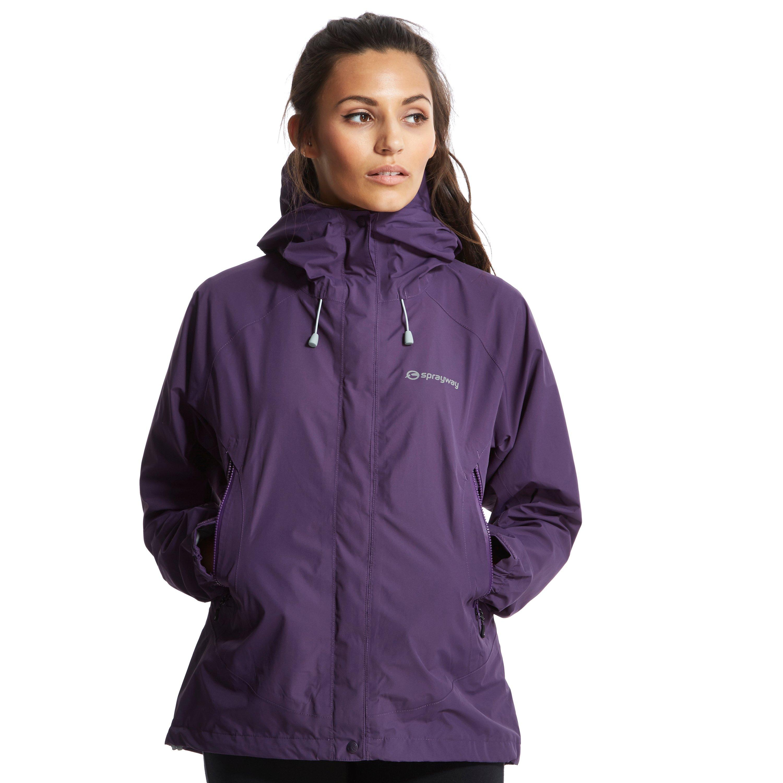 Sprayway Womens Era GORETEX Jacket Purple
